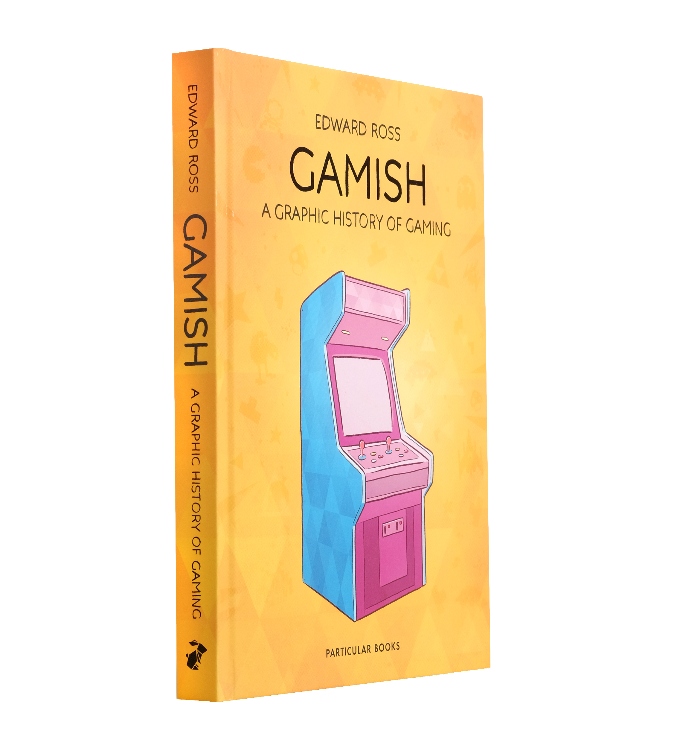 Cover for Edward Ross's graphic novel Gamish